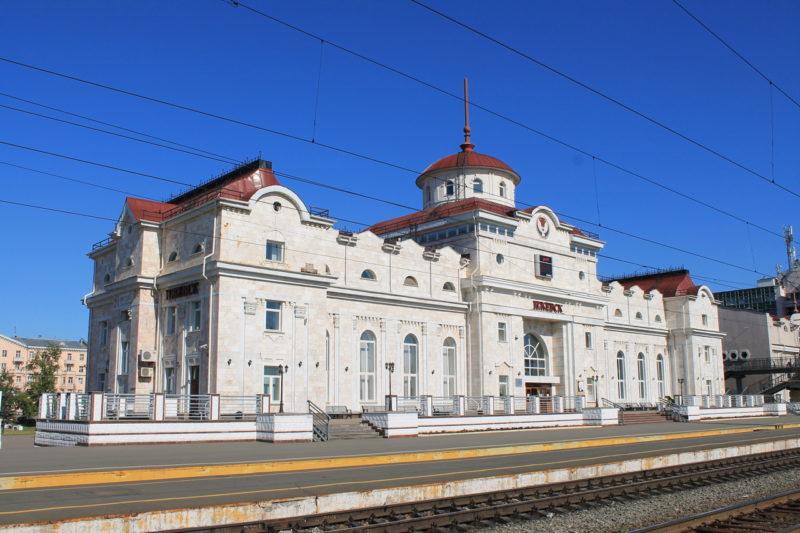 ЖД вокзал Ижевск